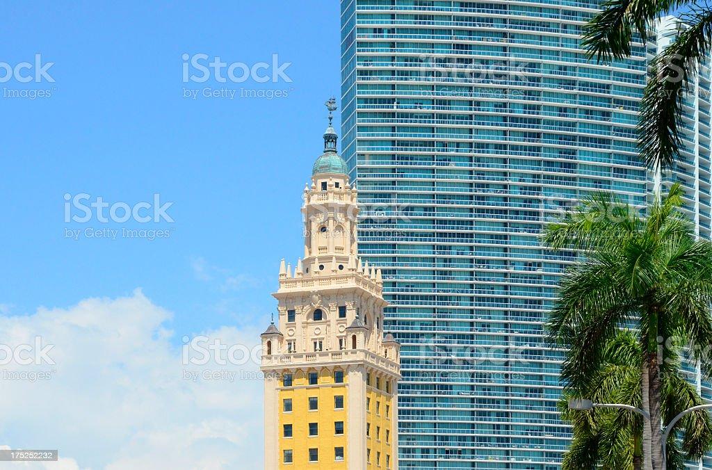 Freedom Tower, Miami, Florida royalty-free stock photo