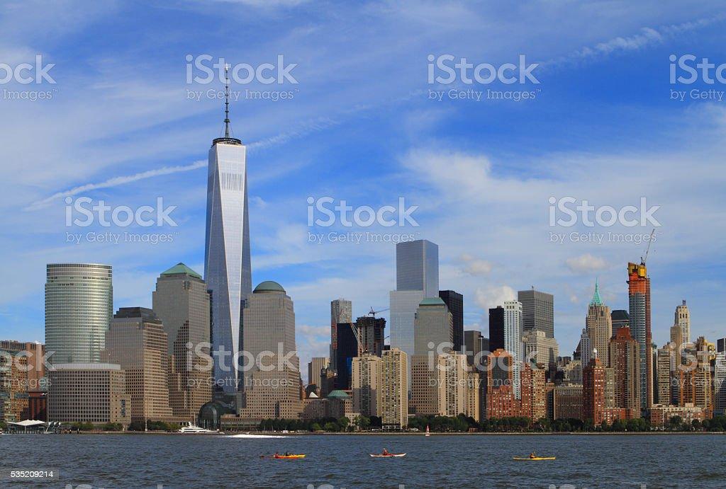 Freedom Tower - New York City stock photo