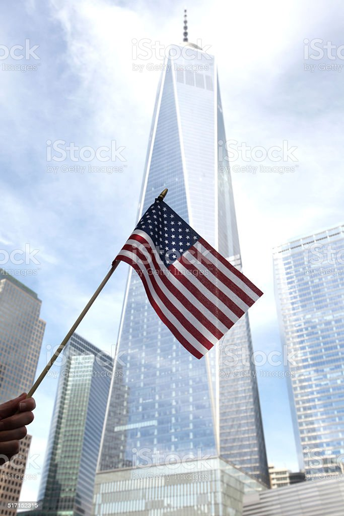 Freedom Tower stock photo