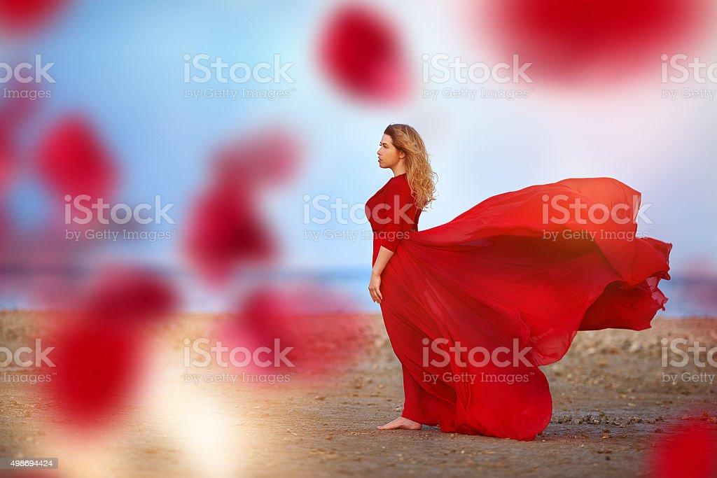 freedom, wild and fashion stock photo