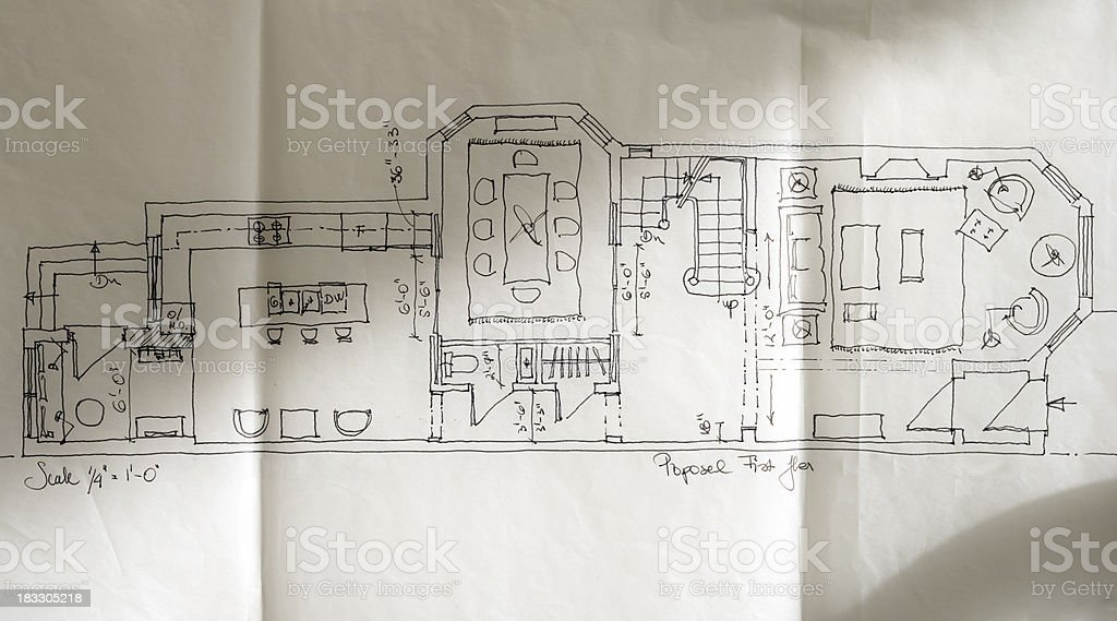 Freehand design royalty-free stock photo