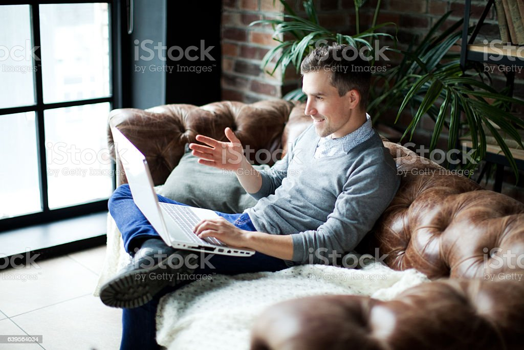 Freelancer stock photo