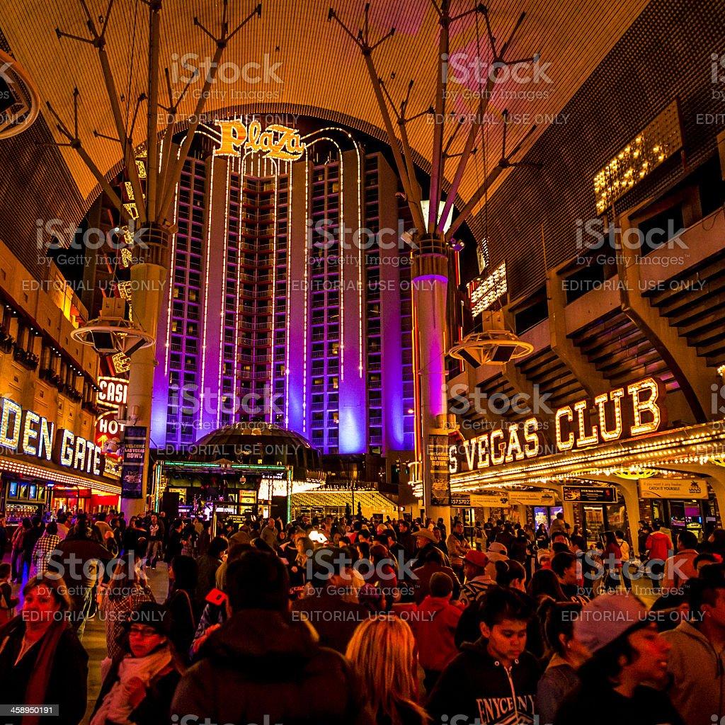 Freemont Experience Las Vegas stock photo