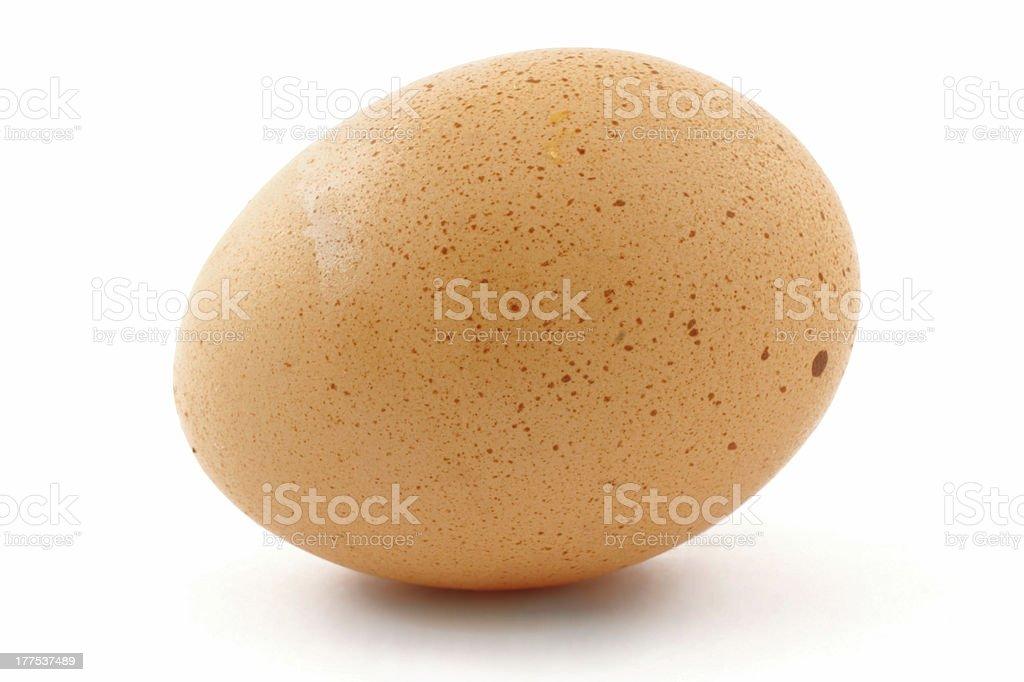 free-range egg royalty-free stock photo