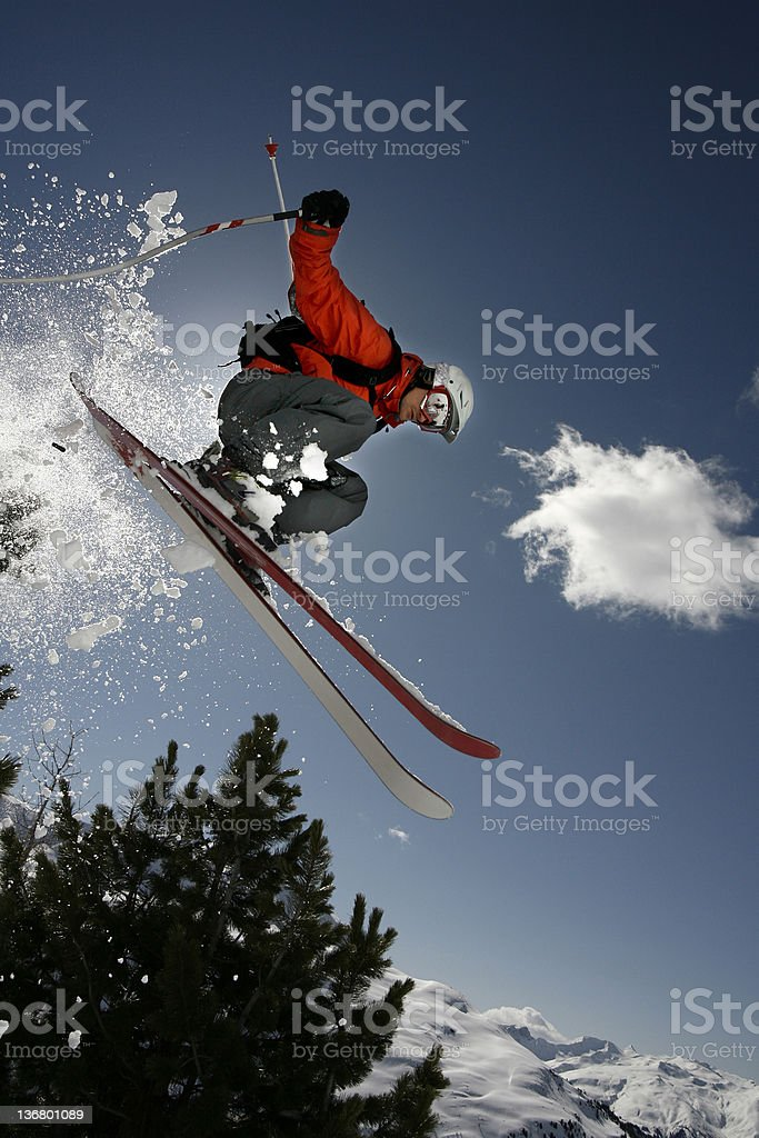 Freeride stock photo