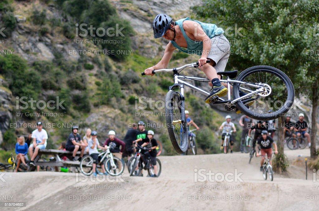 Freestyle BMX stock photo