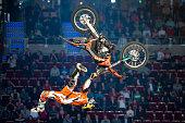 Freestyle Motocross FMX Trick