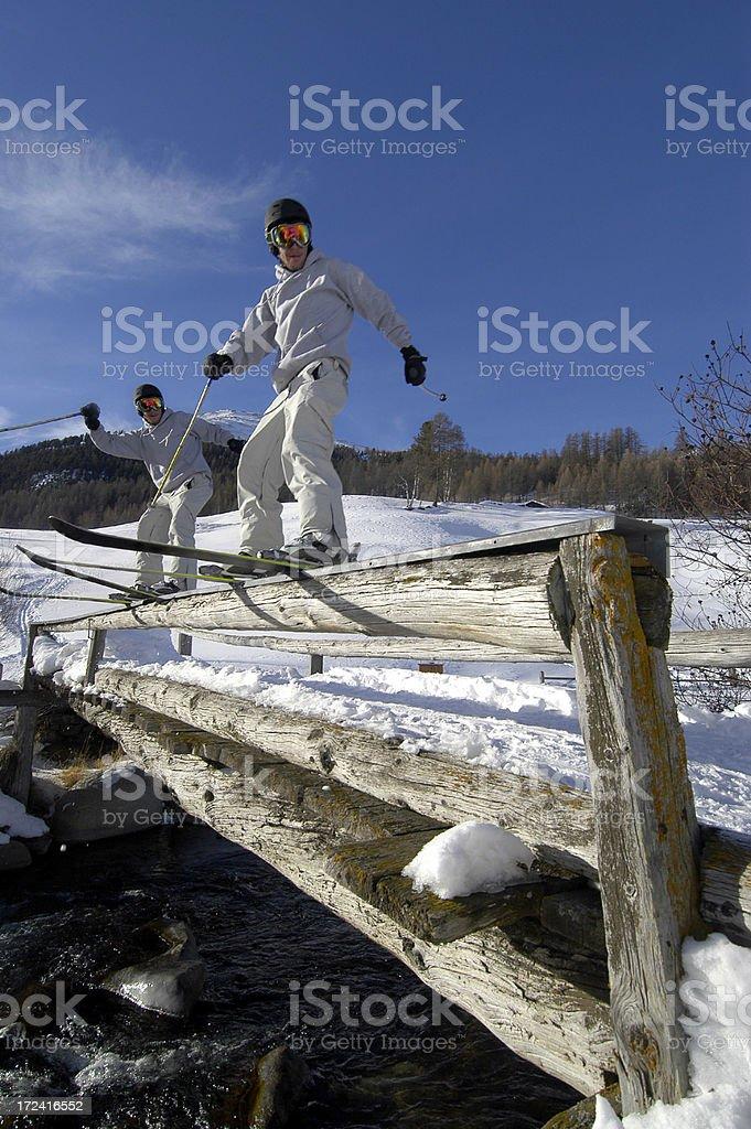 Freestyler rail stock photo