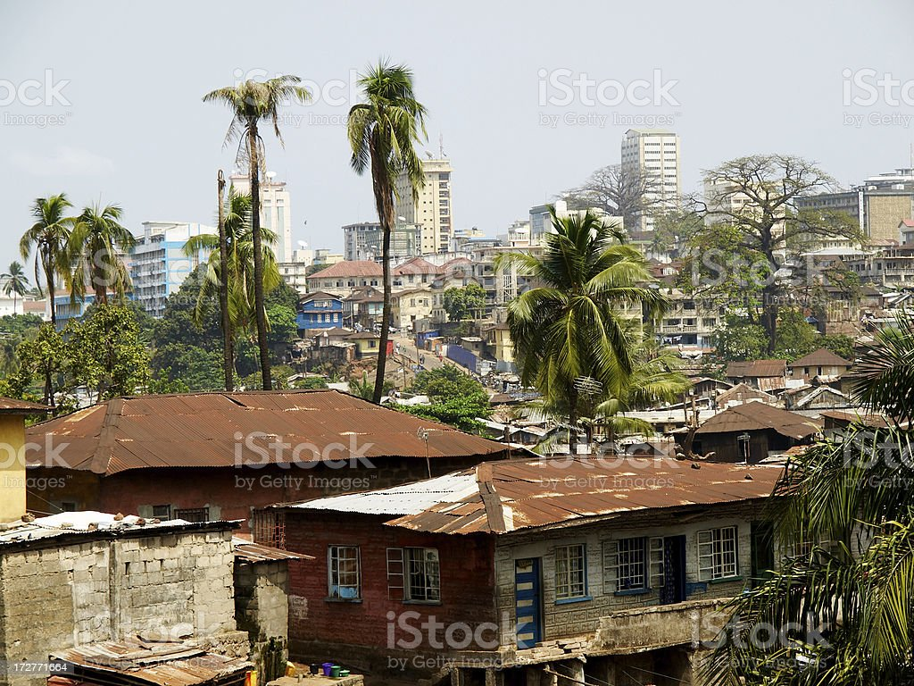 Freetown stock photo