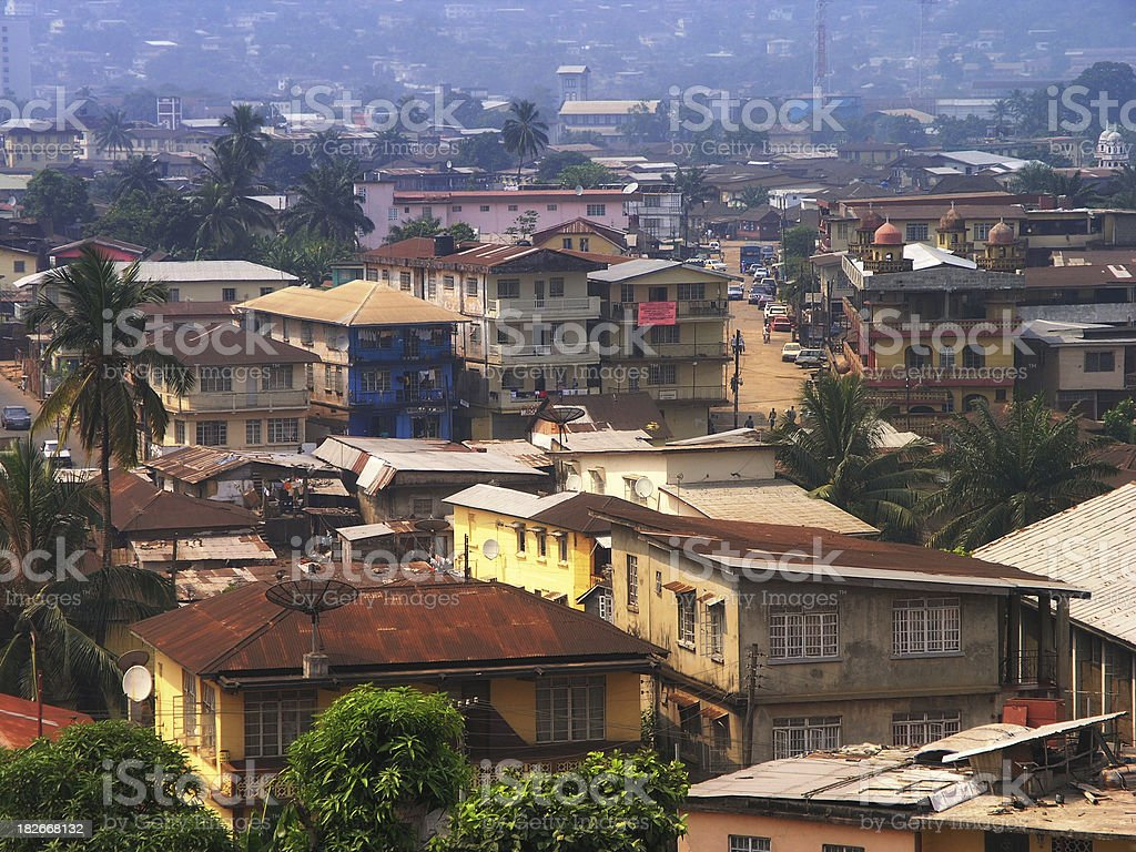 Freetown royalty-free stock photo