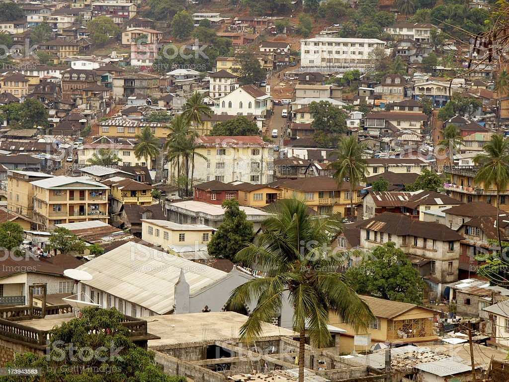 Freetown - Sierra Leone stock photo