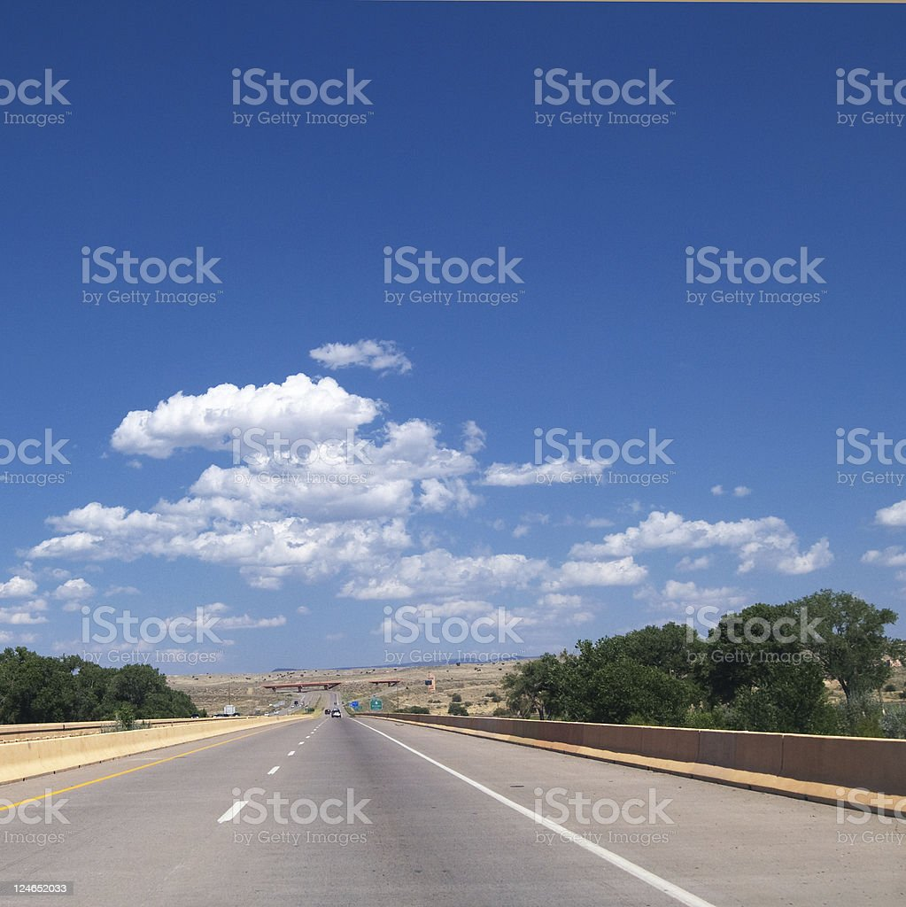 I-25 Freeway royalty-free stock photo