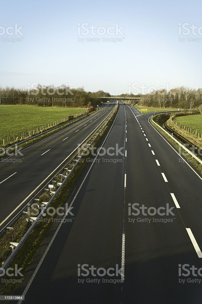 Freeway stock photo