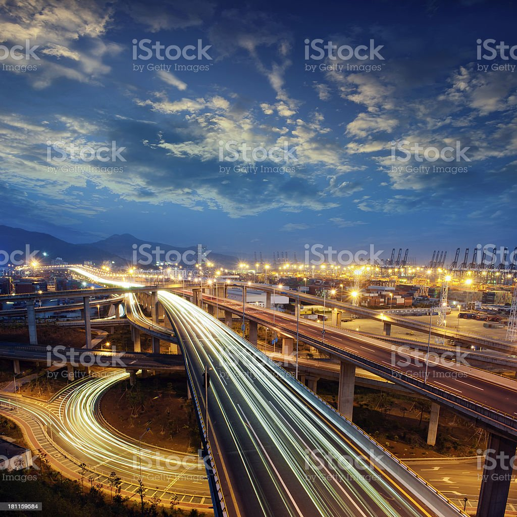 freeway stock photo