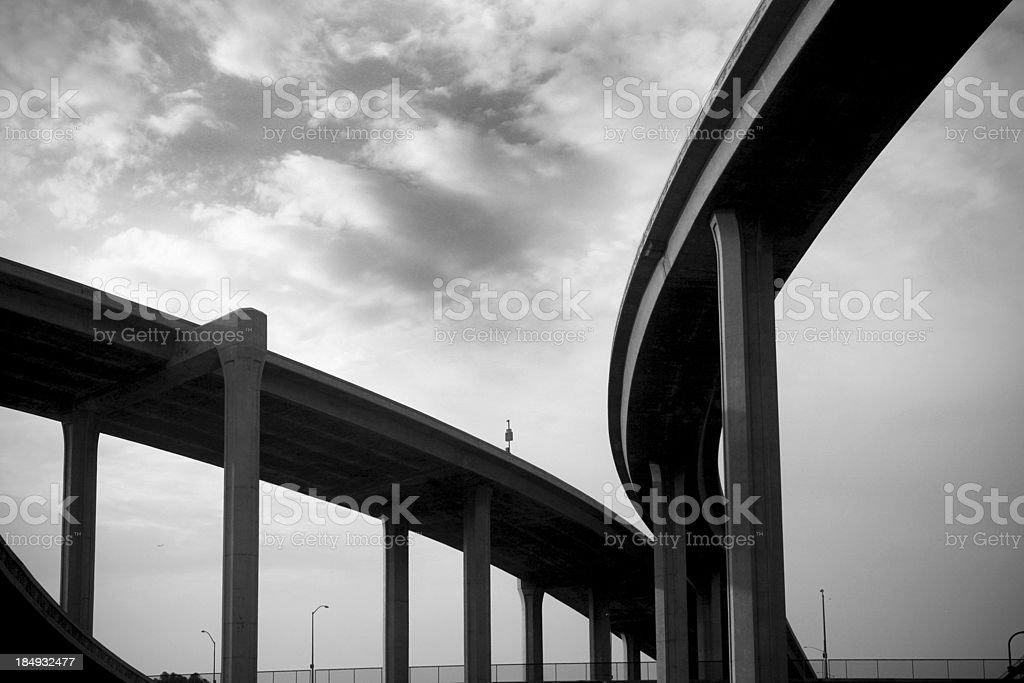Freeway Span royalty-free stock photo
