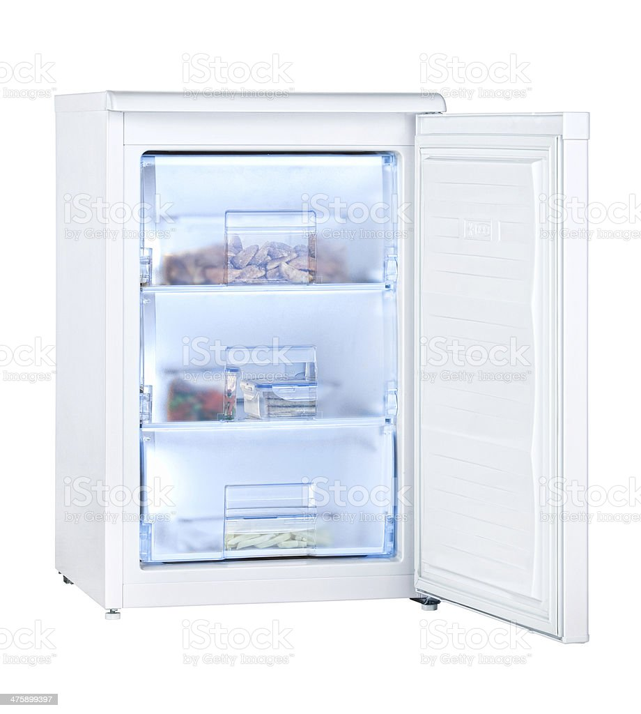 freezer royalty-free stock photo