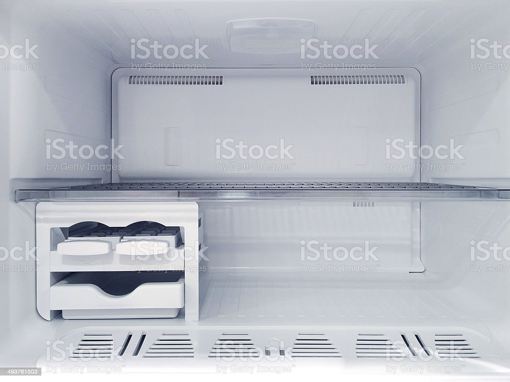 Freezer (Click for more) royalty-free stock photo
