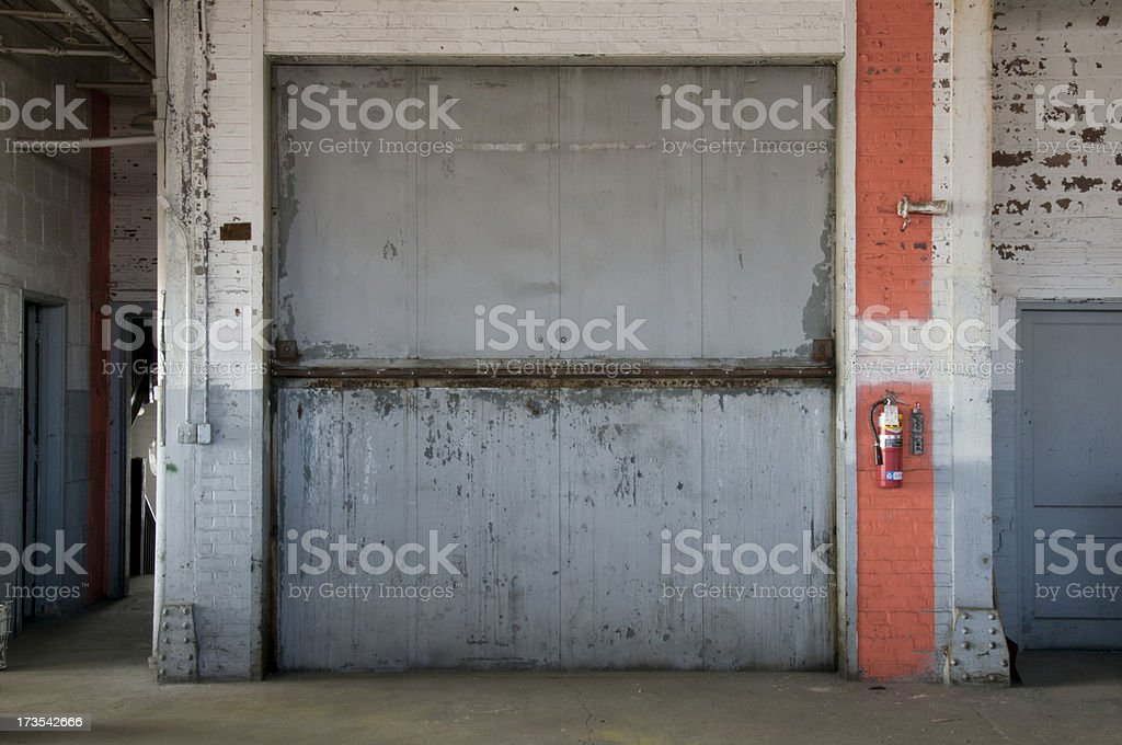 Freight Elevator stock photo