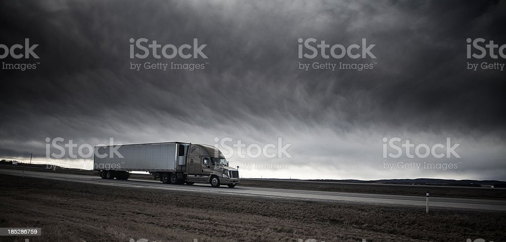 Freight Hauling royalty-free stock photo