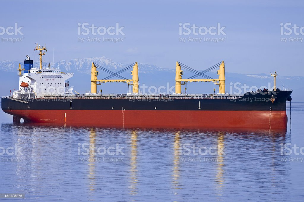 Freight Ship royalty-free stock photo