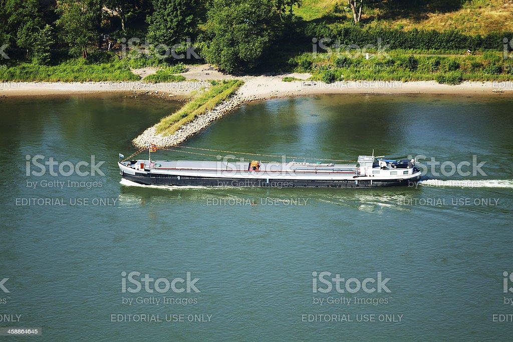 Freight ship royalty-free stock photo