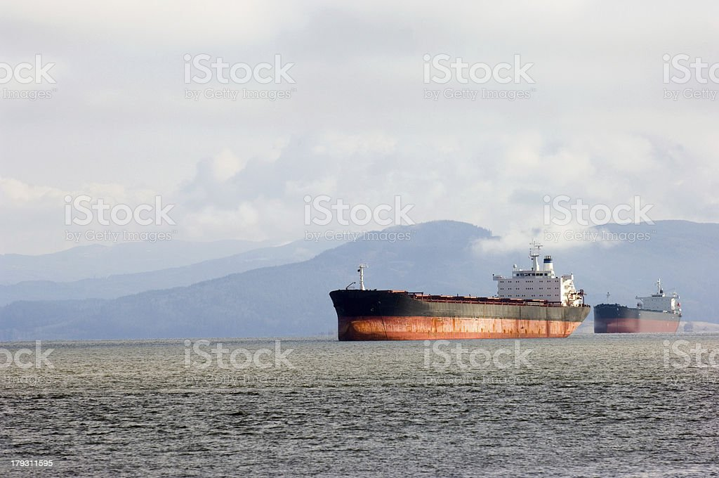 Freight shipment royalty-free stock photo