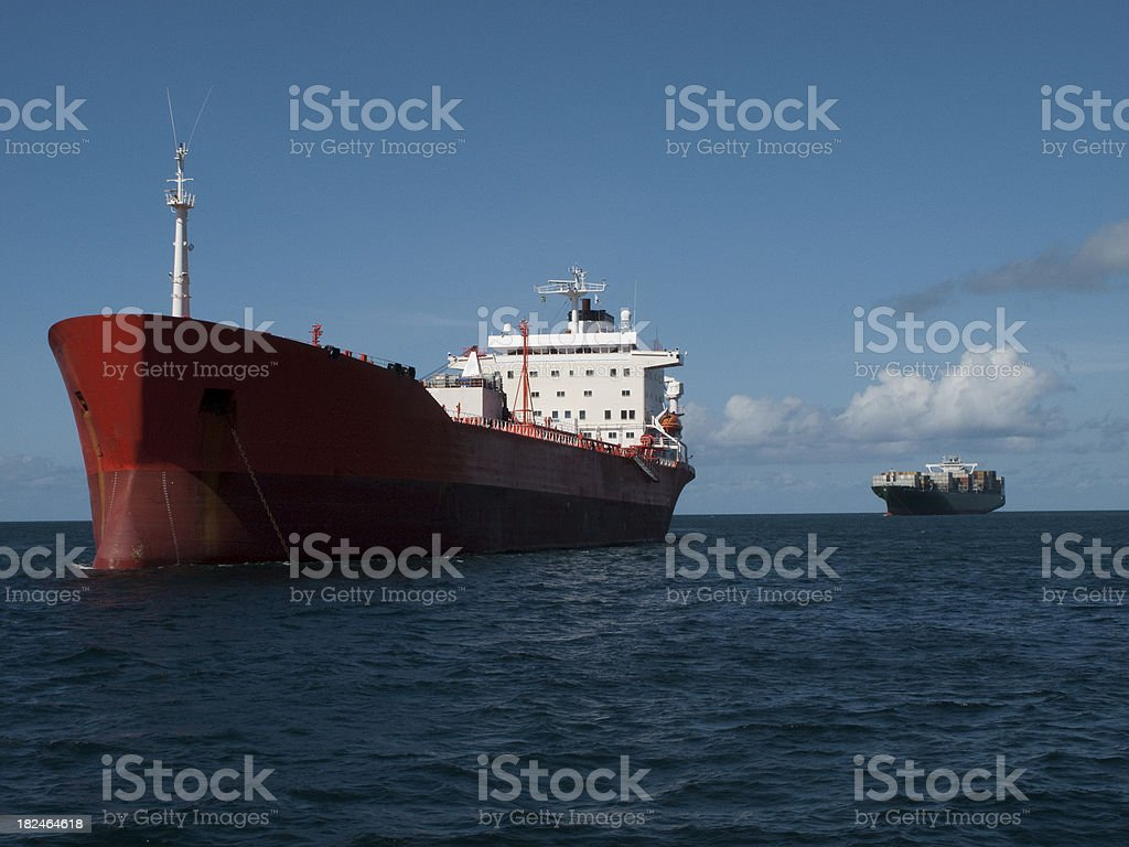 Freight tranportation royalty-free stock photo