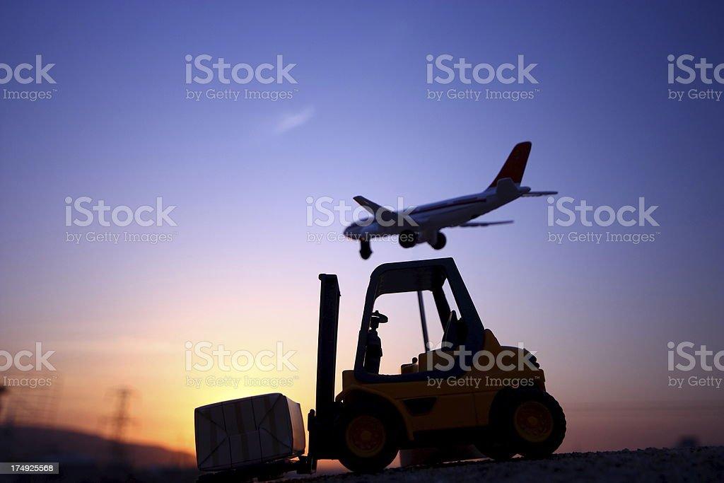 Freight Transportation royalty-free stock photo