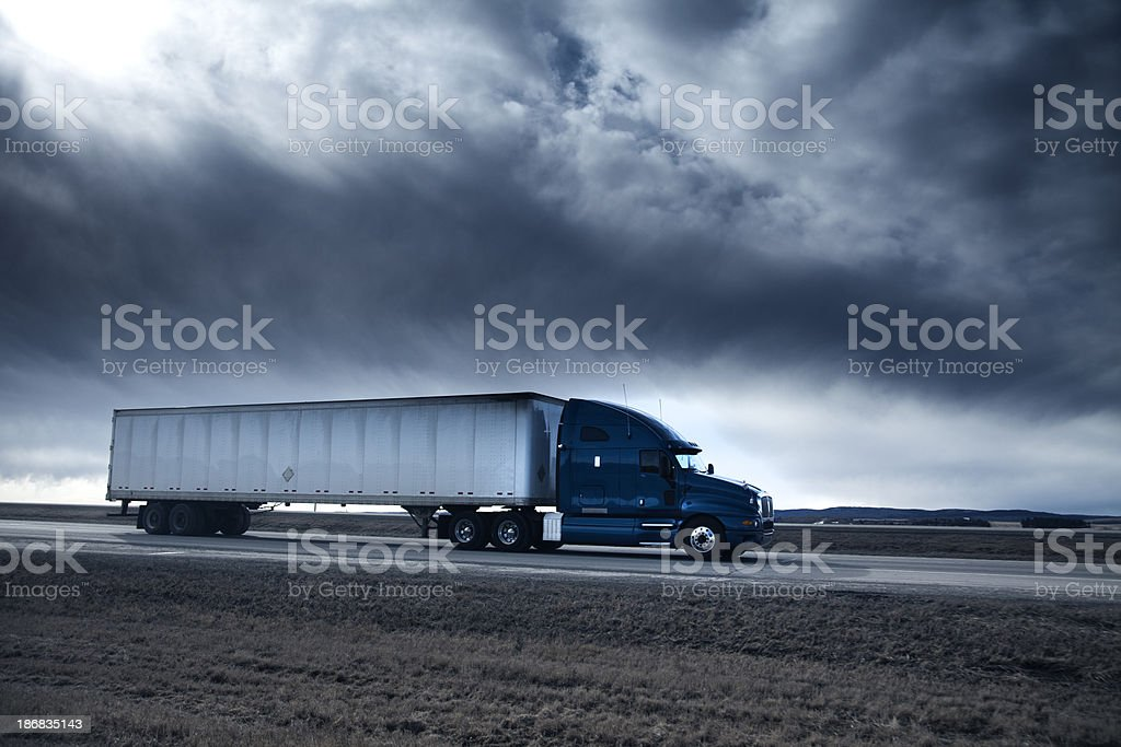 Freight Truck royalty-free stock photo