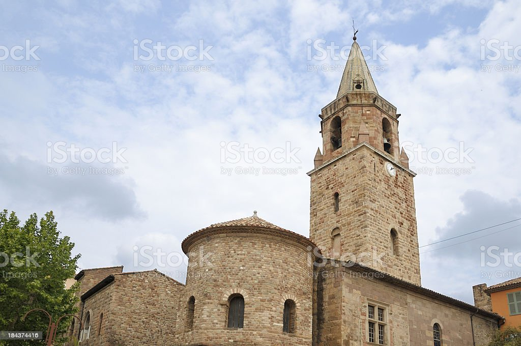 Frejus Cathedral royalty-free stock photo