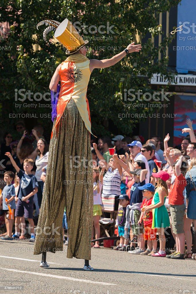 Fremont Parade stock photo
