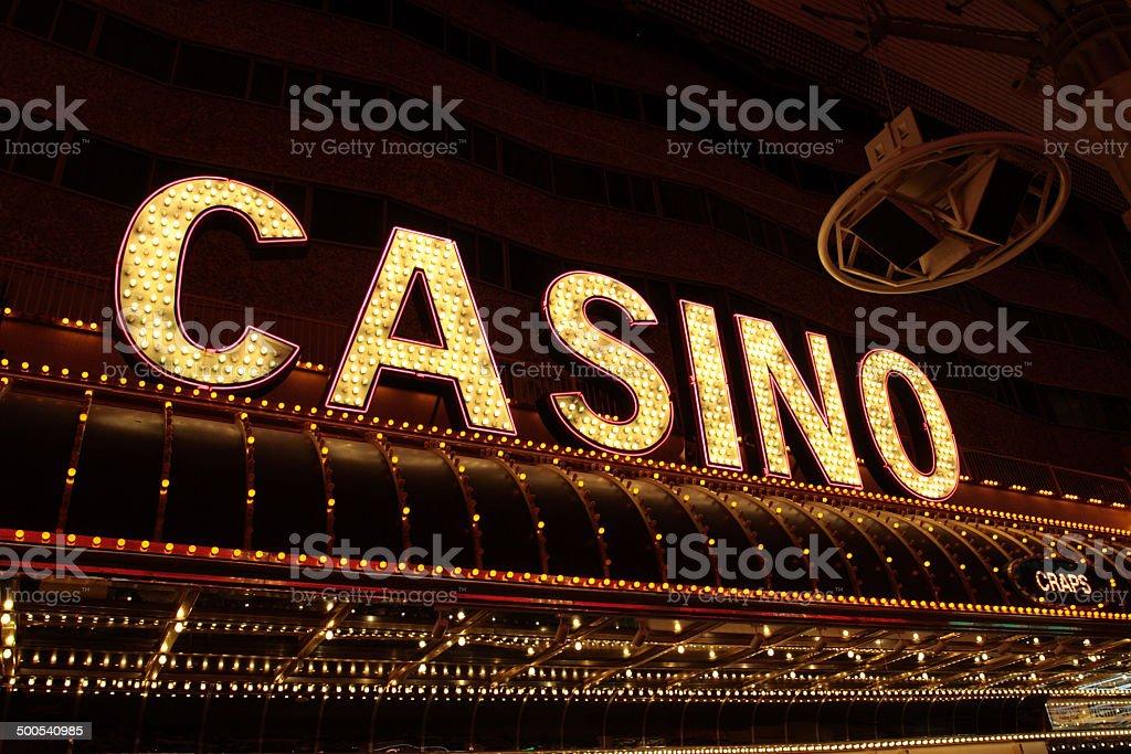 Fremont Street Experience, Las Vegas, USA stock photo