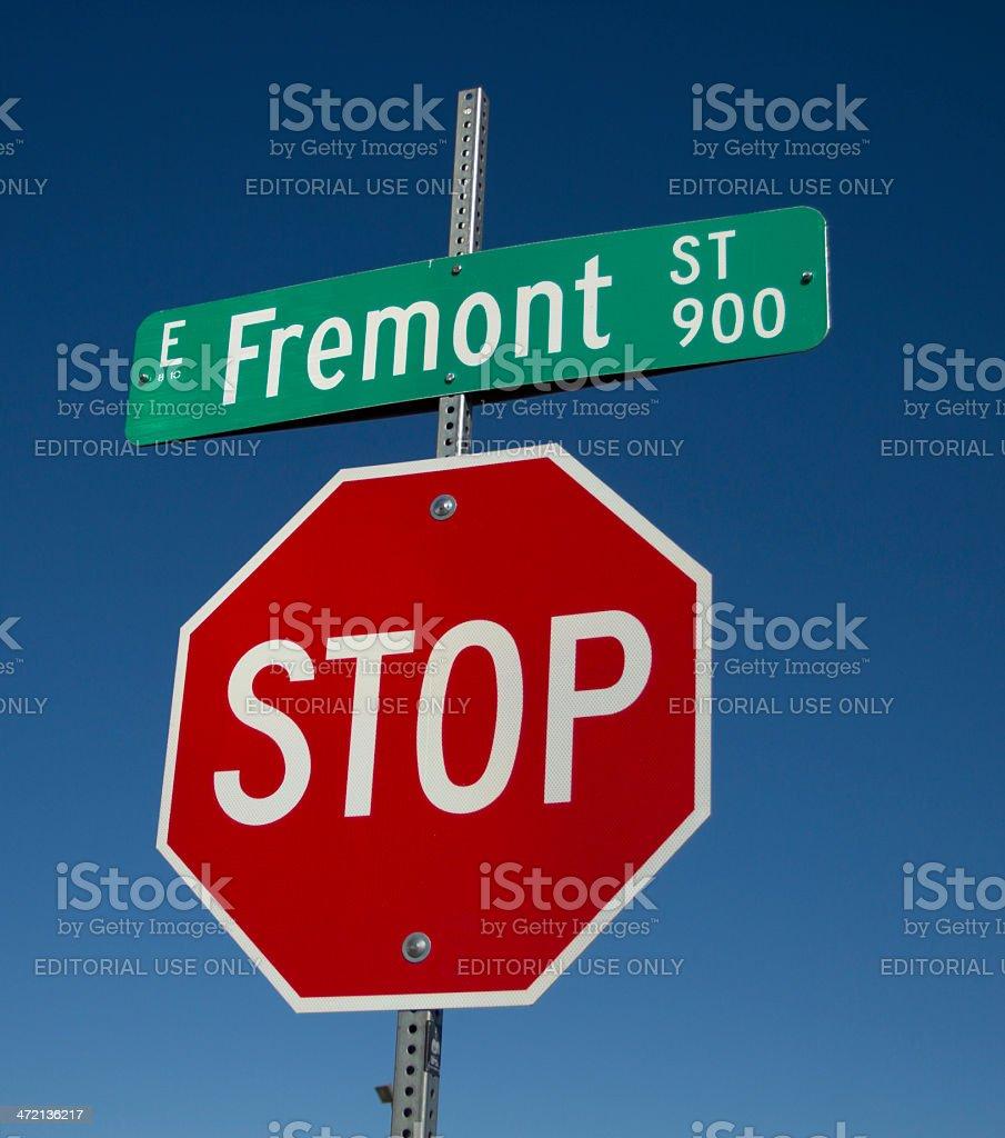 Fremont Street - Las Vegas stock photo