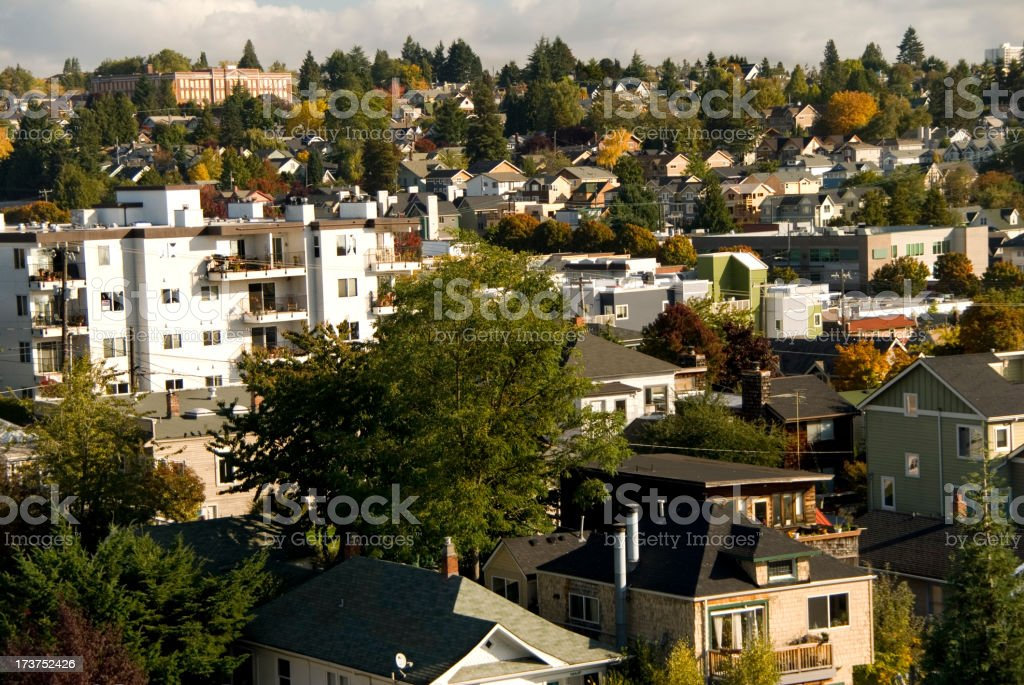 Fremont view royalty-free stock photo