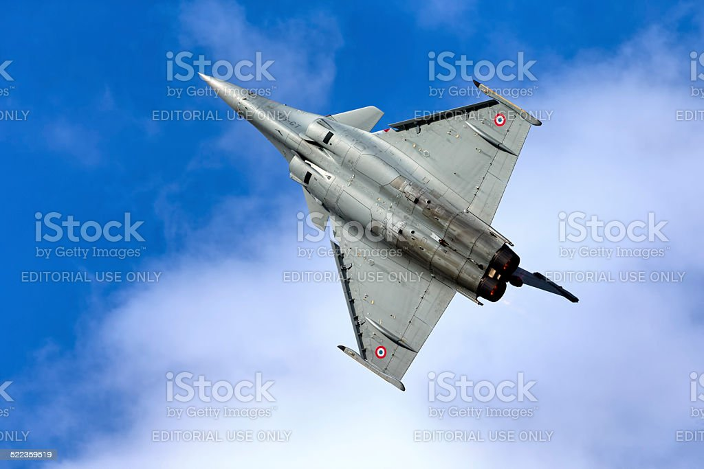 French Air Force Dassualt Rafale C stock photo