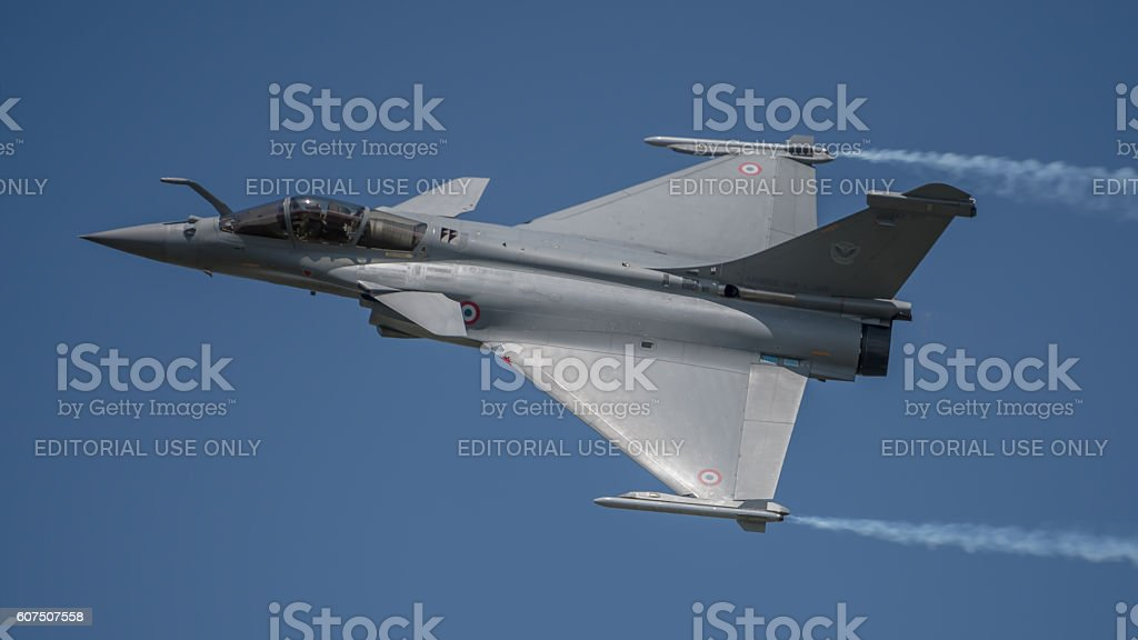 French Air Force Rafale stock photo