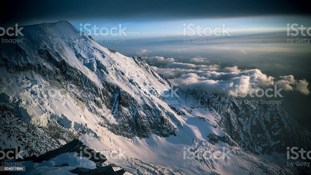 French Alp stock photo