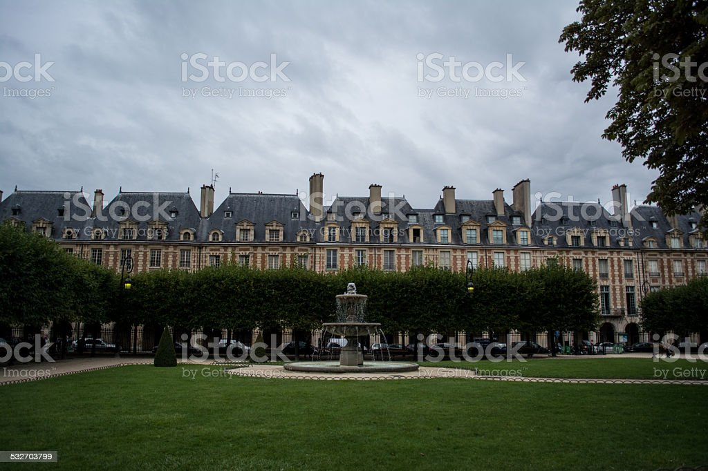 French Apartments stock photo