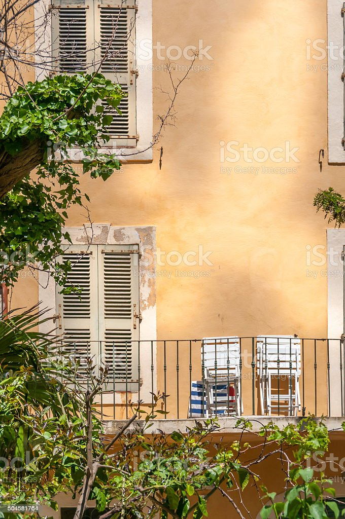 French Architecture stock photo