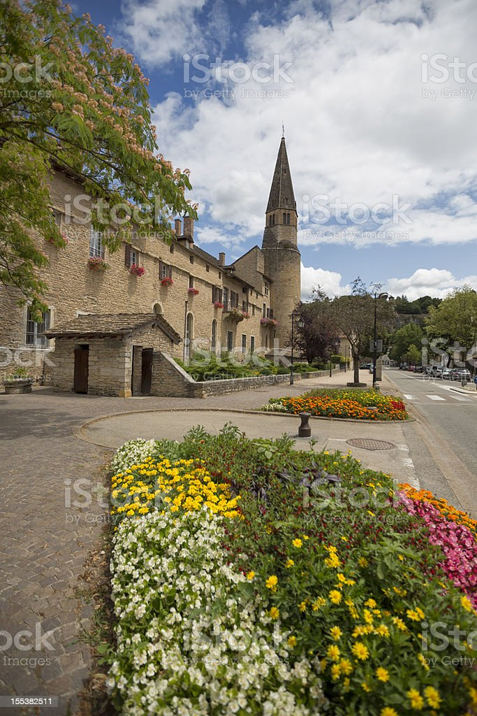French Augustinian monastery stock photo