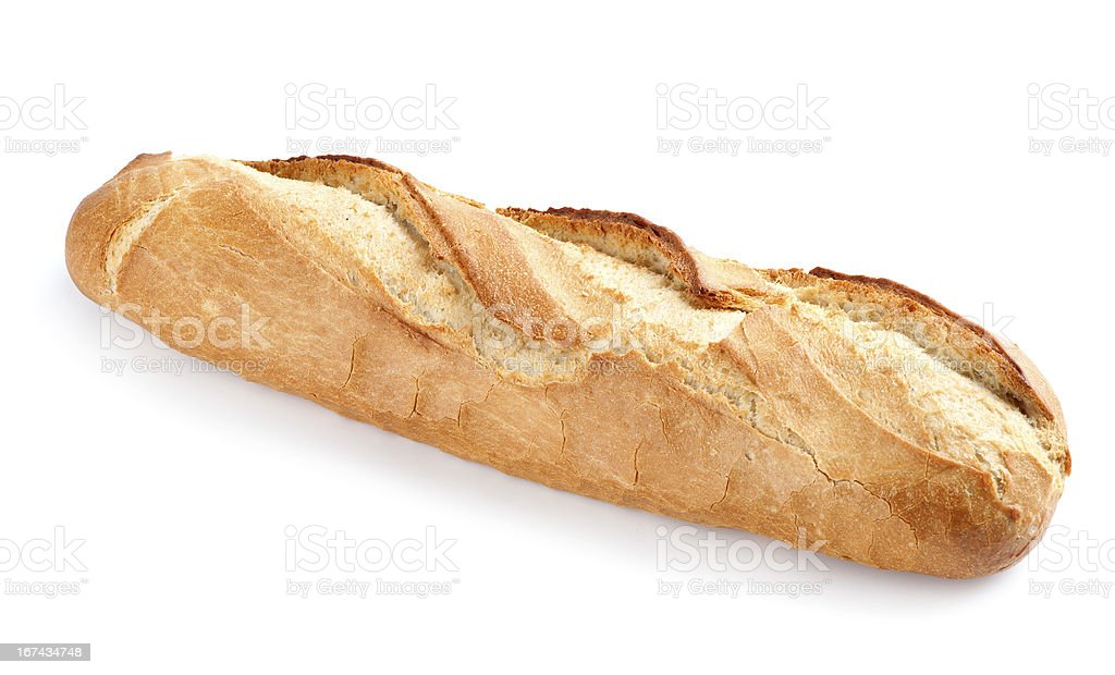 french baguette bread royalty-free stock photo