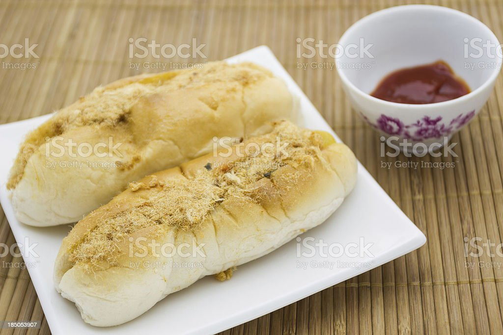 French Baguette vietnam style royalty-free stock photo