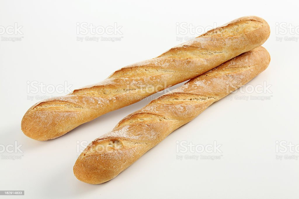 French Baguettes royalty-free stock photo