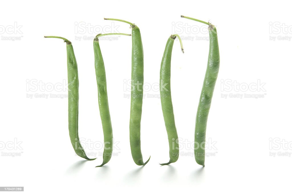 French Beans stock photo