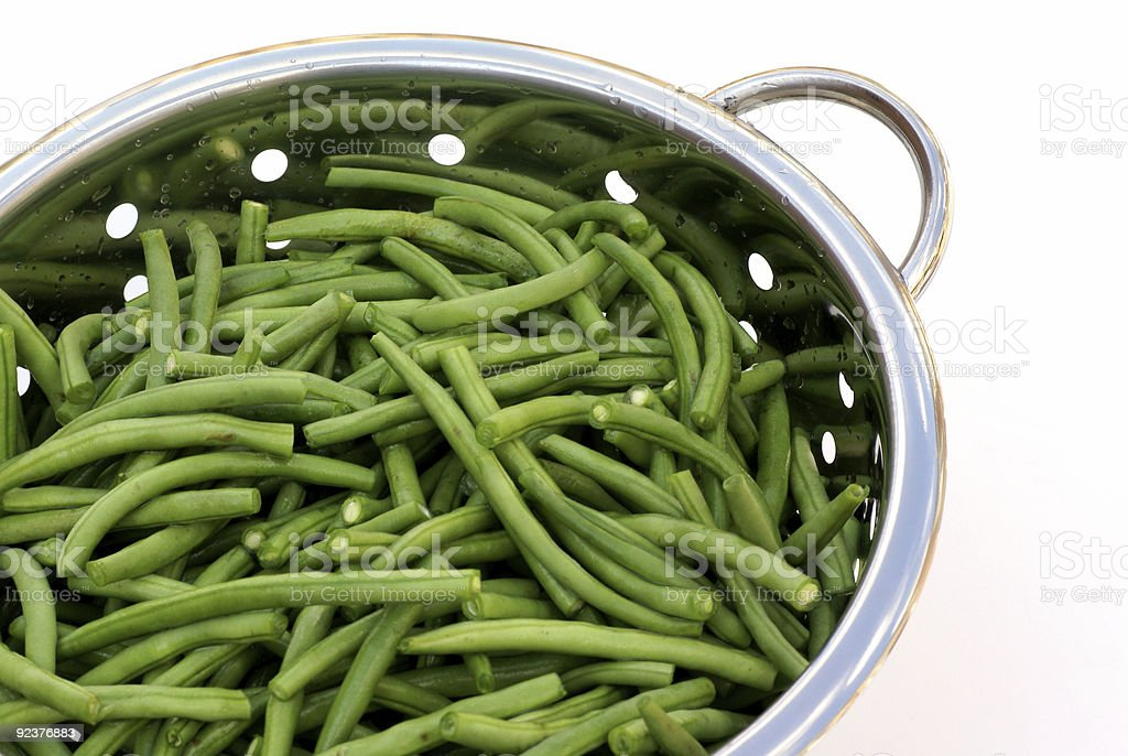 French beans. royalty-free stock photo