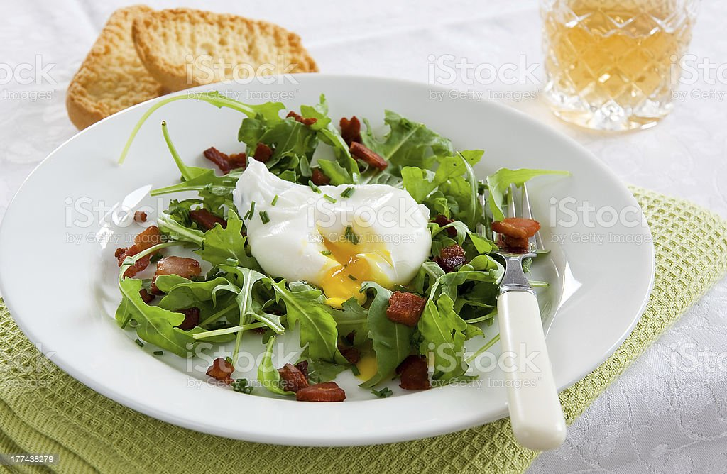 French Bistro Salad stock photo