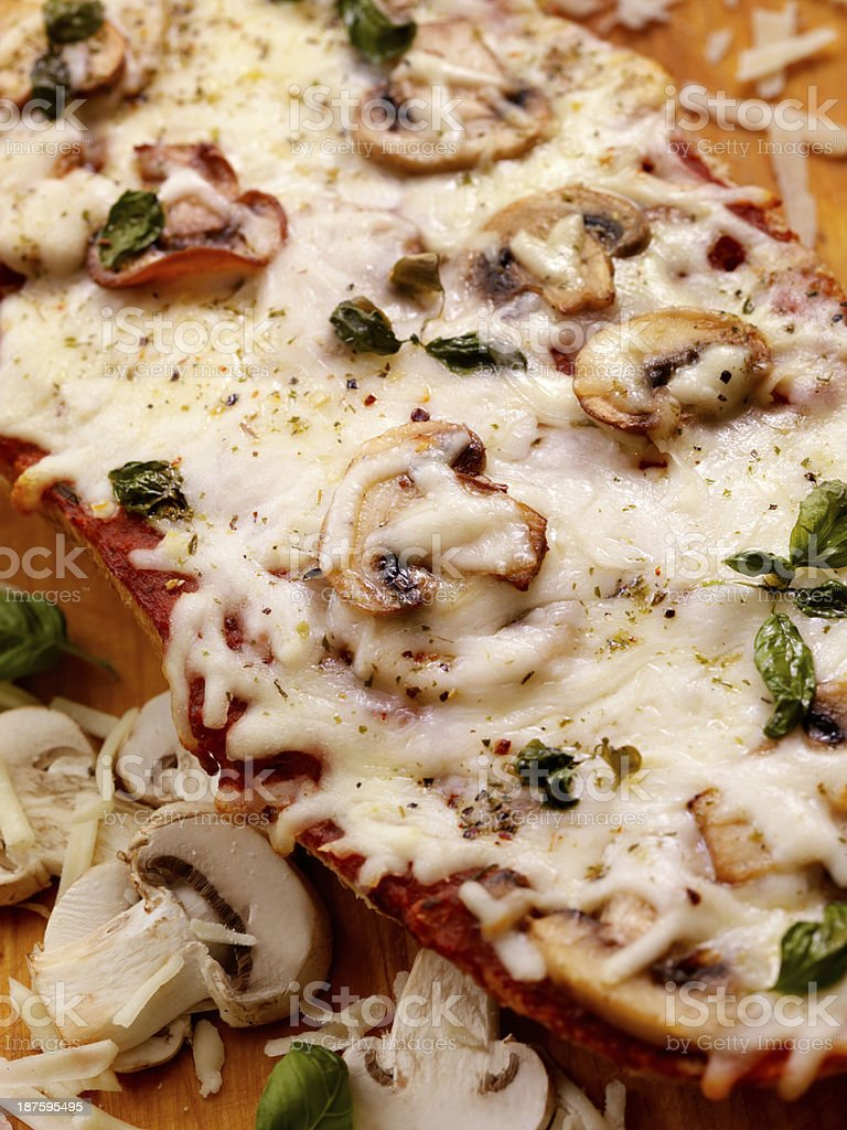 French Bread Pizza royalty-free stock photo
