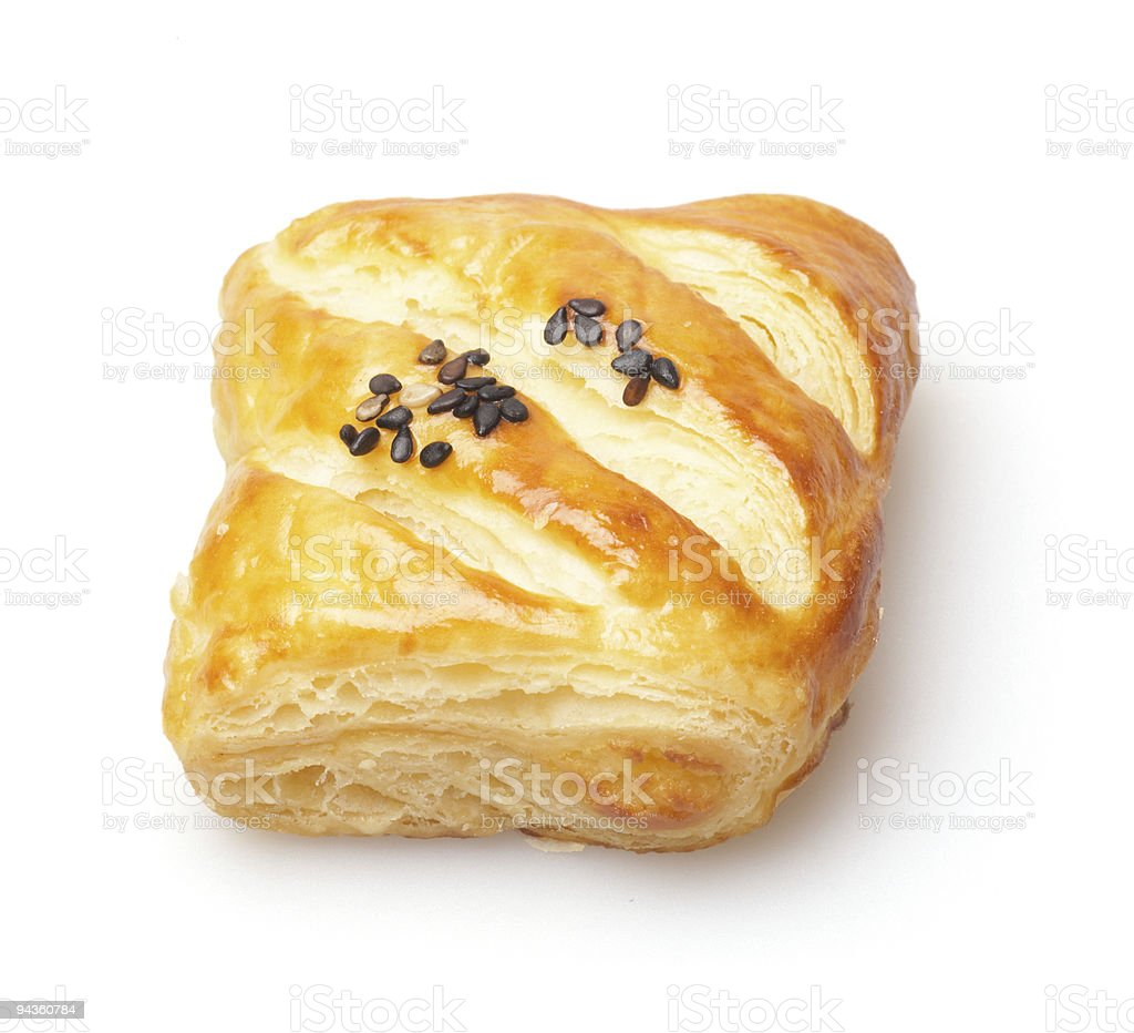 French breakfast pastry royalty-free stock photo