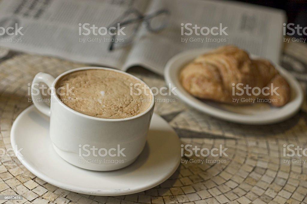 French Breakfast royalty-free stock photo