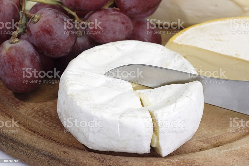 French brie royalty-free stock photo